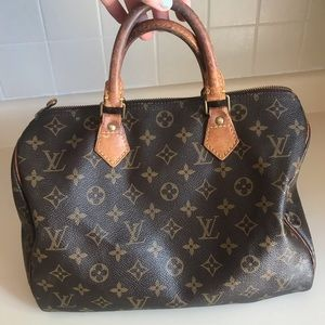 Authentic Louis Vuitton handbag from 1980's